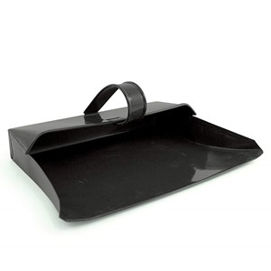 Black Metal Dustpan