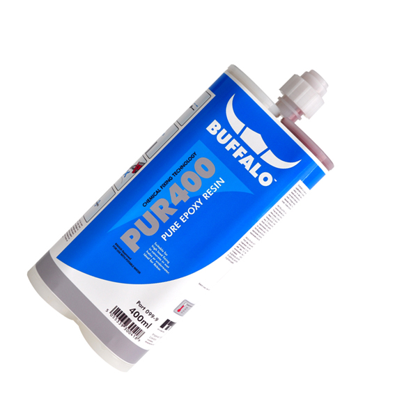 Buffalo PUR400 Pure Epoxy Resin Cartridge 400ml