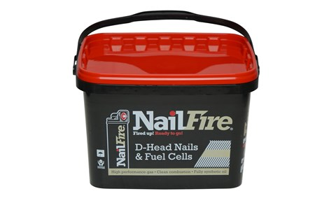 Framing Nails (First Fix) Nail Fire Ring Galv (12 micron) Nail Fuel Pack (3000)