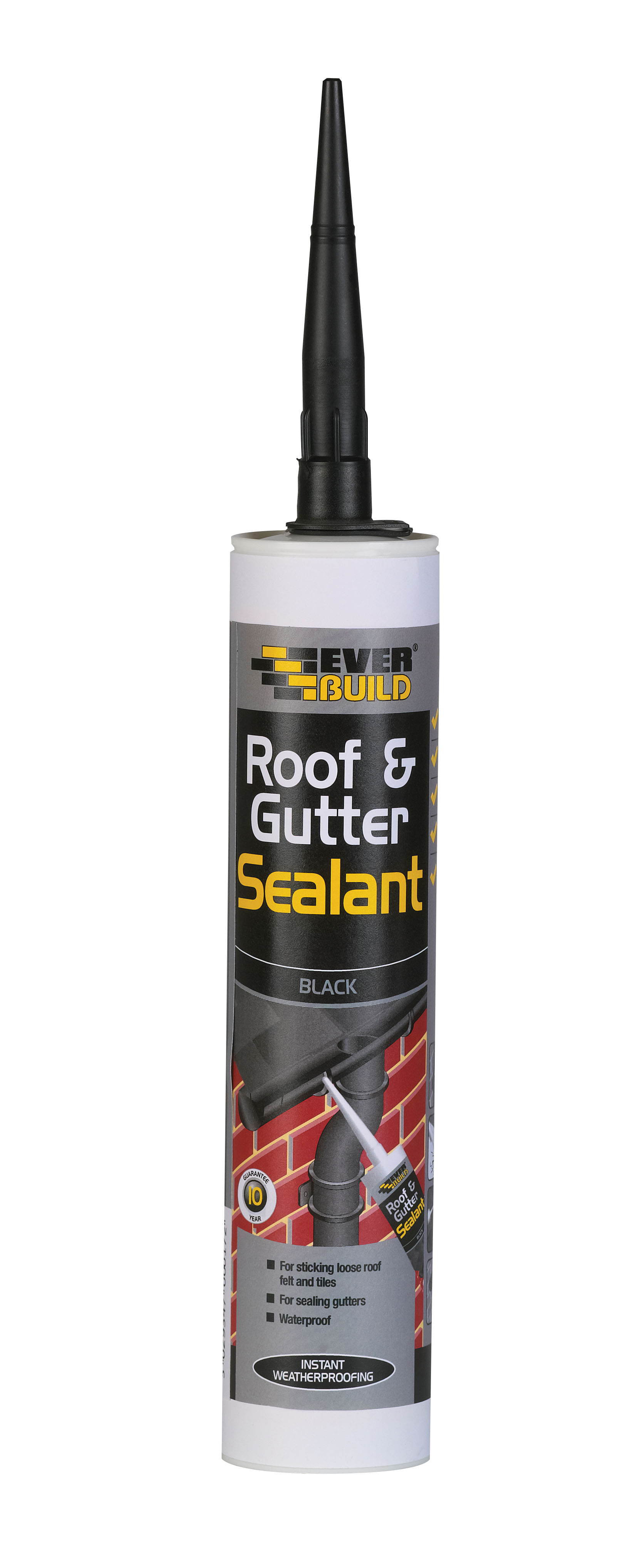 310ml Black Roof & Gutter Sealant