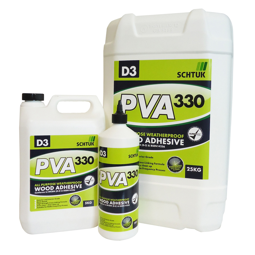 PVA Adhesives D3 Water Resistant PVA Wood Adhesive