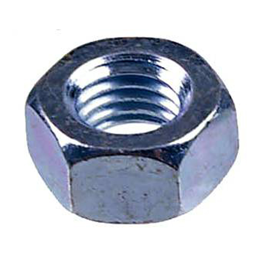 Metric Coarse Hex Full Nuts Steel BZP DIN 934