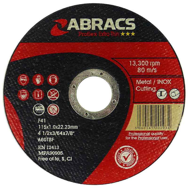High Performance Special Metal Cutting Abrasive Discs