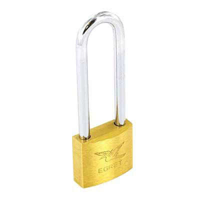 Contract Long Shackle Brass Padlock