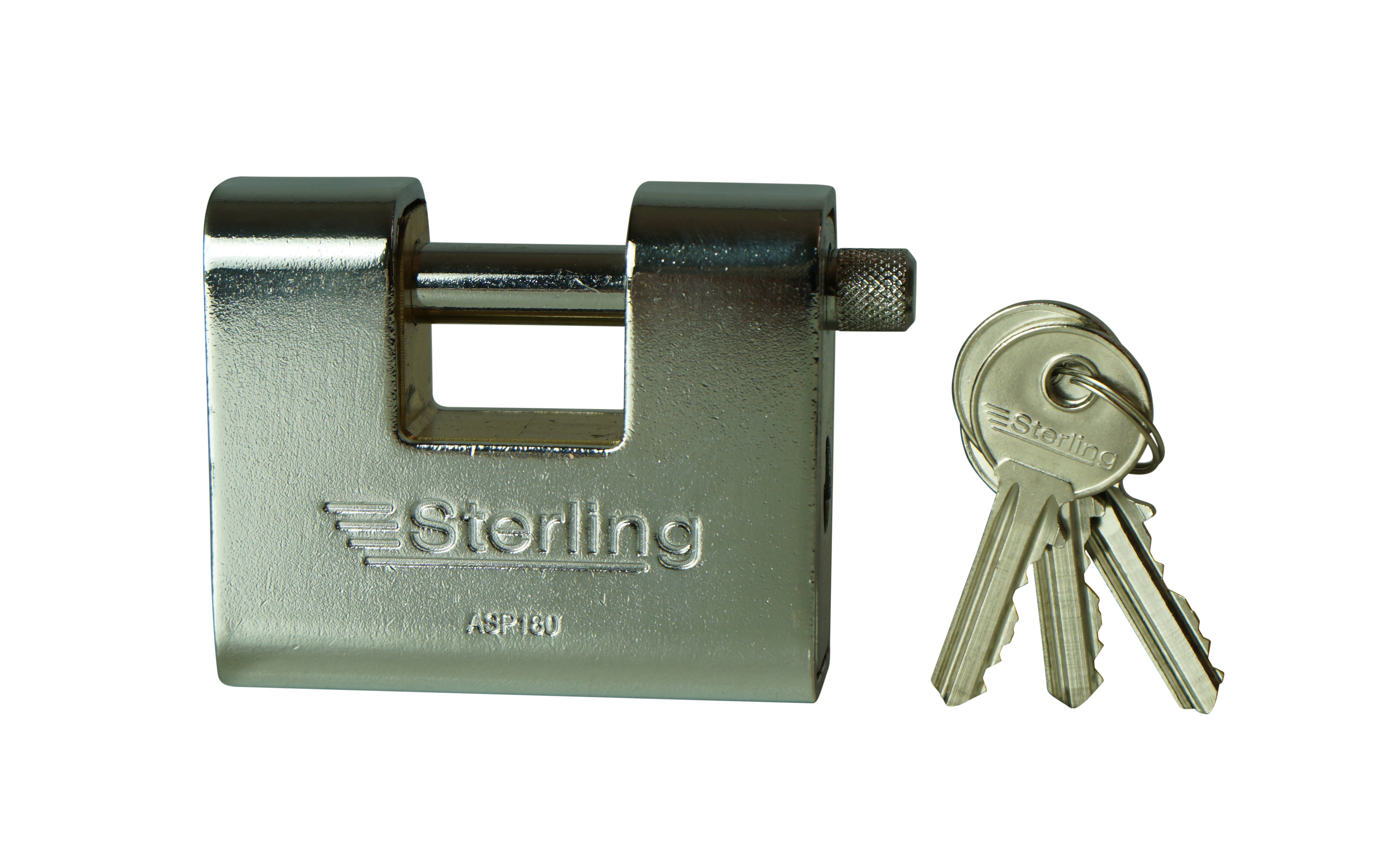 80mm Anvil Armoured Shutter Lock Keyed Alike to 201