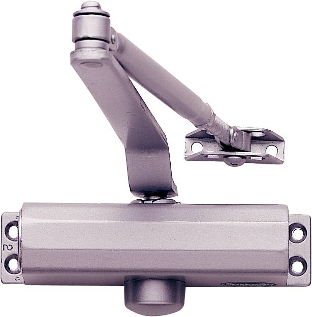400 Series Door Closer with Silver Body