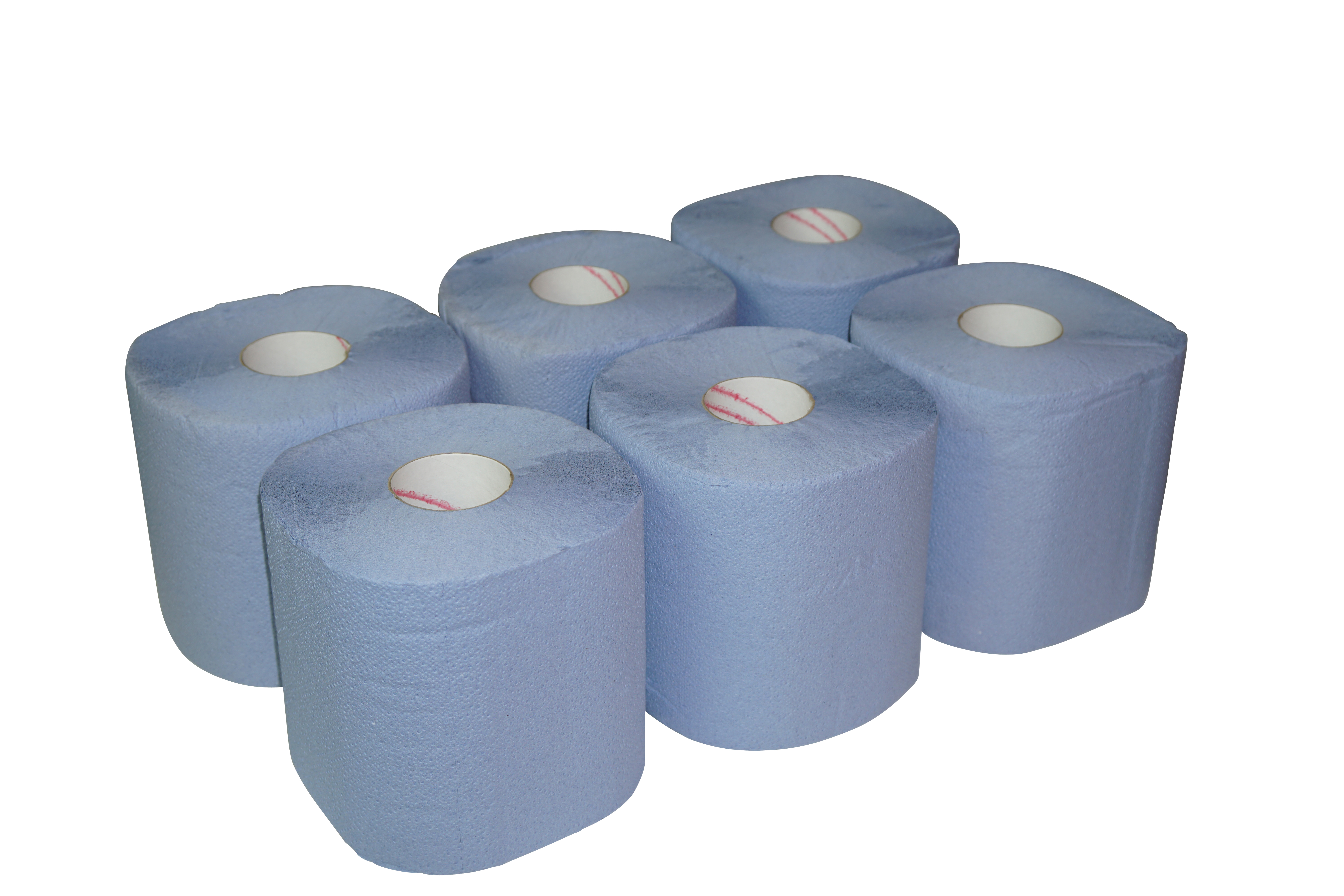 Paper Products 200mm Blue Centre Pull Hand Rolls (Pack of 6)