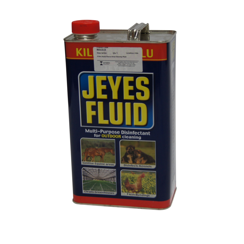 Cleaning Products 5 litre Jeyes Heavy Duty Cleaning Fluid