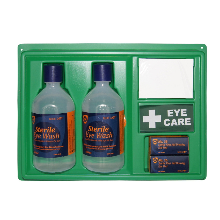 Eyewash Station with 2 Bottles of Eyewash