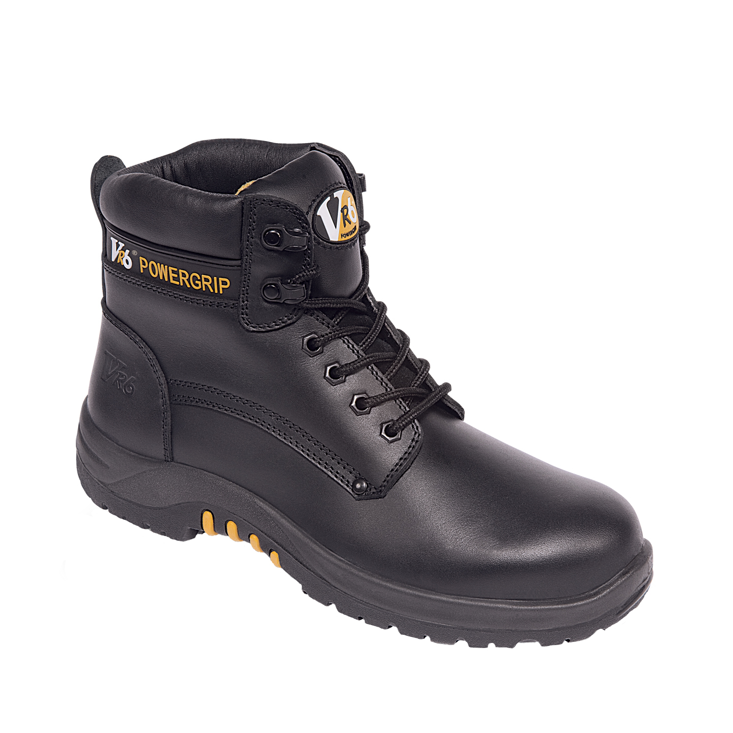 VR600 Bison Black S3 Waxy Hide Boots