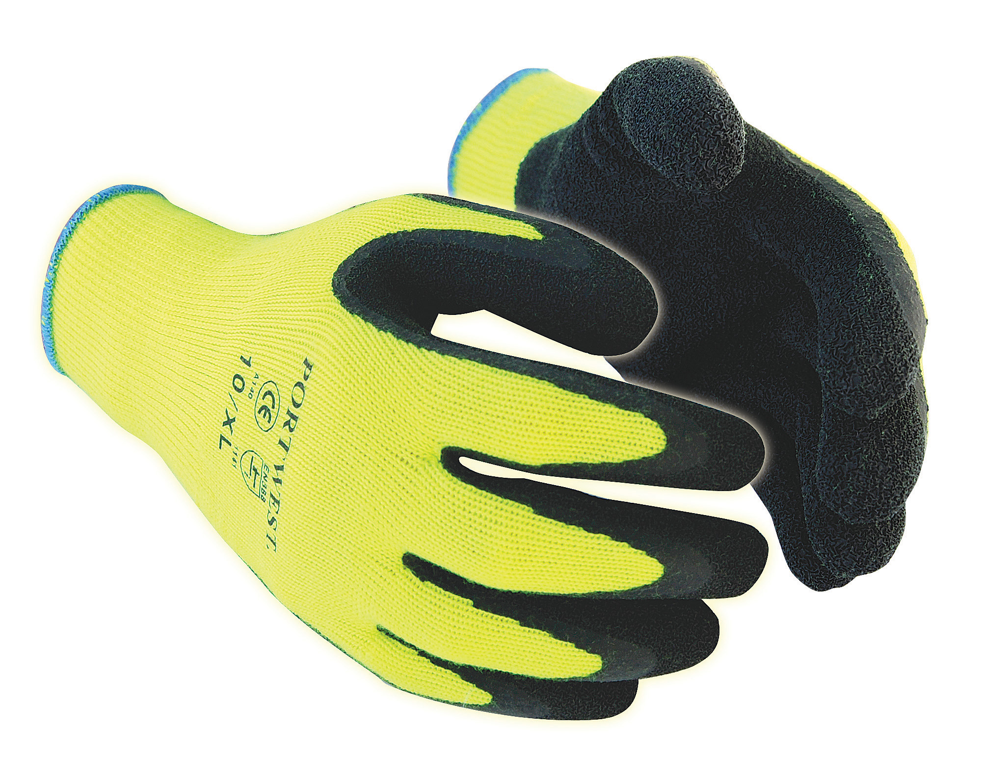 Hi-Viz Thermal Grip Gloves