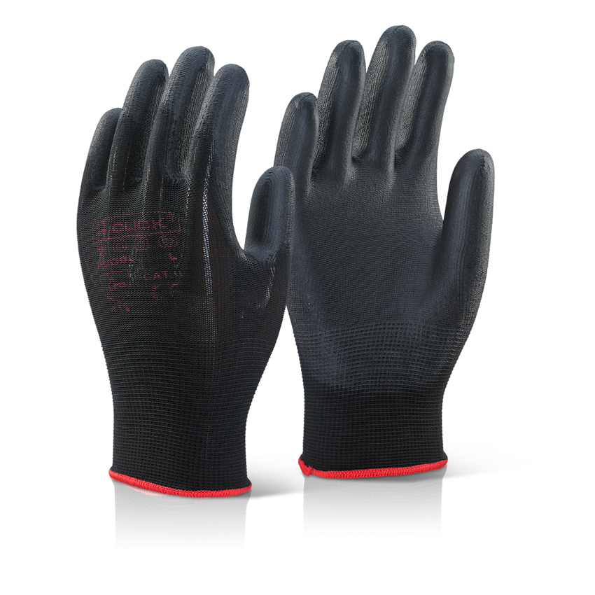 Polyurethane Palm Coated Nylon Machine Knitted Gloves
