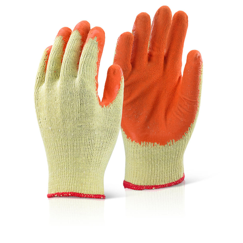 Nitrile Latex Wrinkle Dipped Palm Gloves