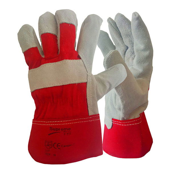 Pair of Standard Red Premier Rigger Gloves