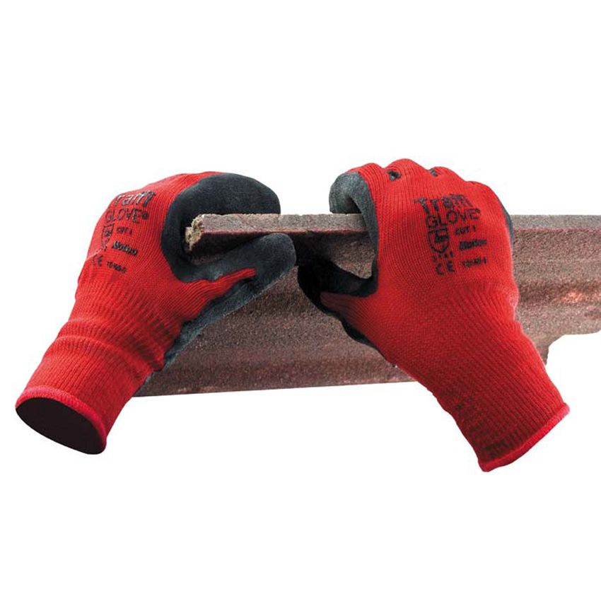 Red Centric 1 Cut (Motion Cut 1 Mediumweight Handling Gloves)