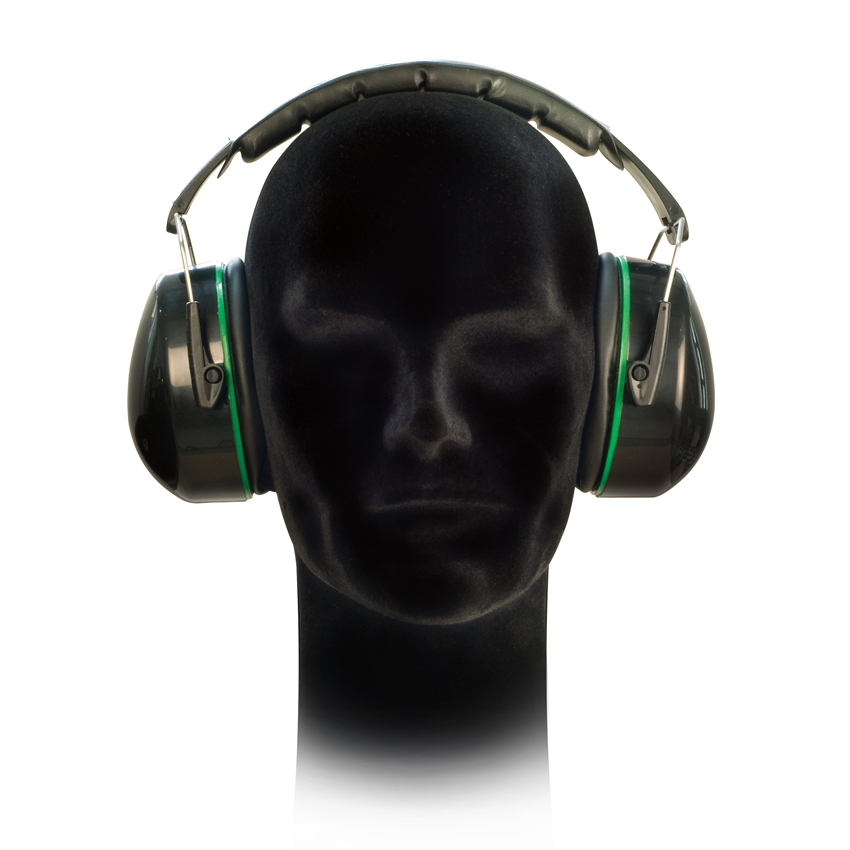 Pair of Premium 6250BK Ear Defenders