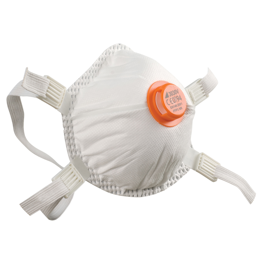 Respiratory Equipment BETAFIT 3030V FFP3 Moulded Dust Mask with Full Inner Seal and Headstraps
