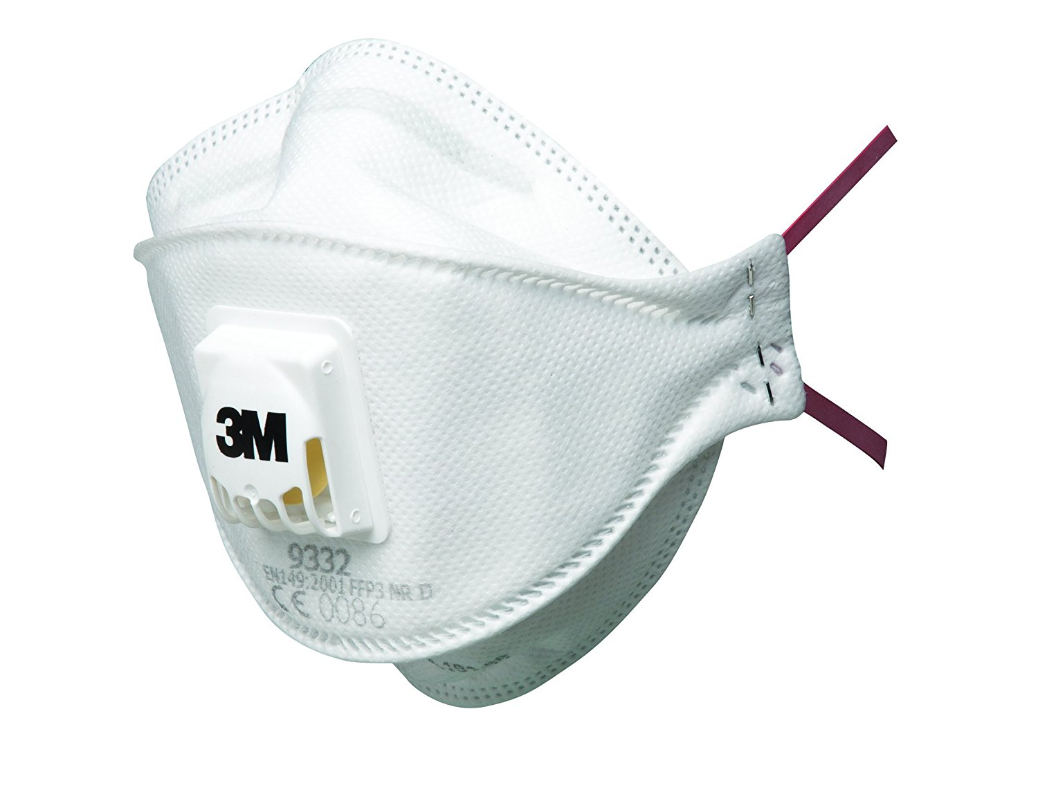 Respiratory Equipment 3M 9332 FFP3 Disposable Valved Face Mask