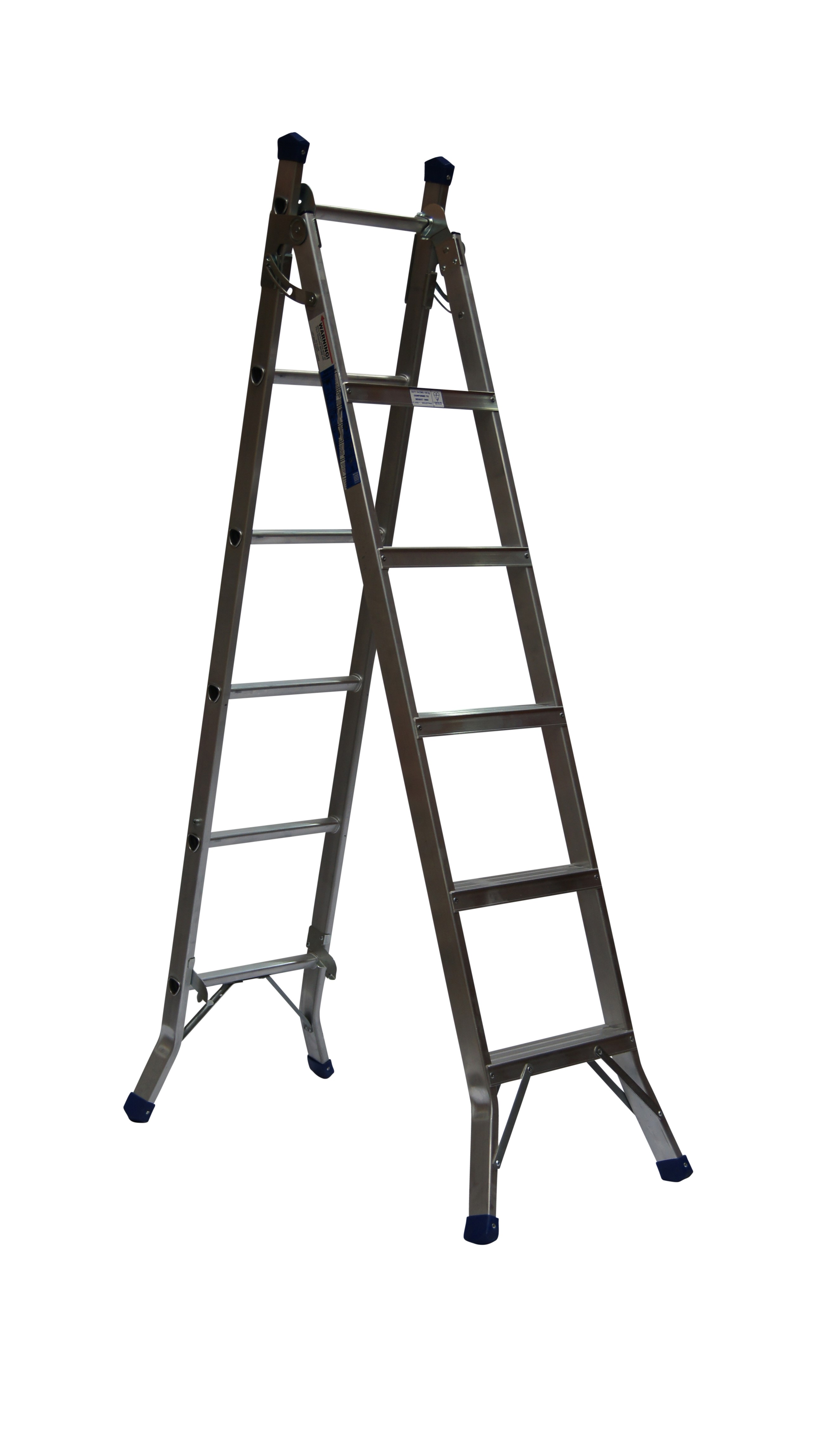 Aluminium 3 Way Versatile Combination Ladder to BS2037 Class 1