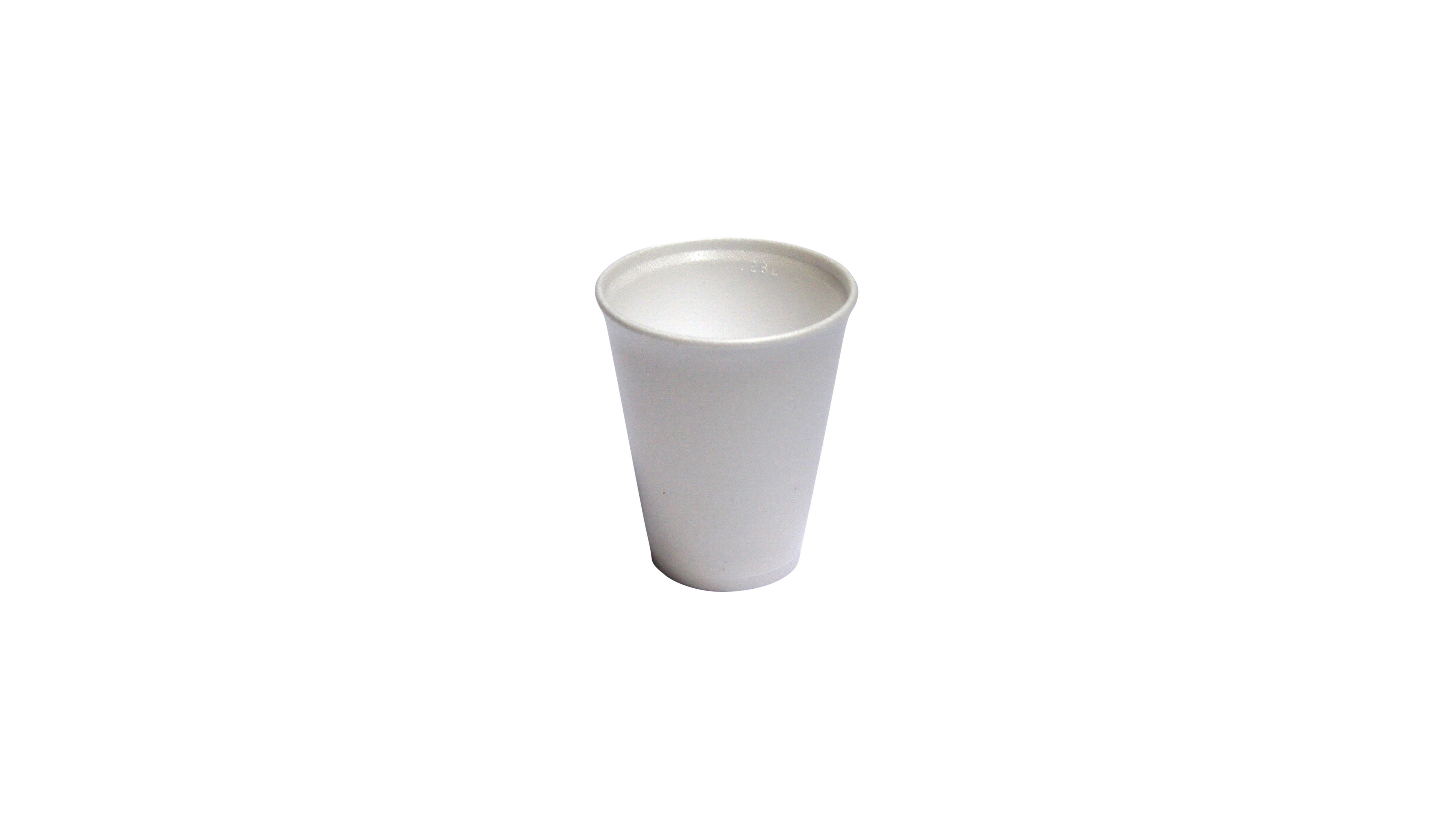Site Equipment 10 floz Polystyrene Foam Drinking Cups (Pack of 1000)