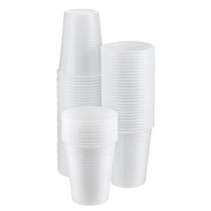 Site Equipment White Plastic Cup 7oz (Case of 2000)
