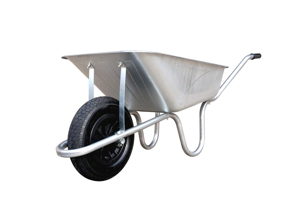85 Litre Contractors Wheelbarrow with Pneumatic Tyre