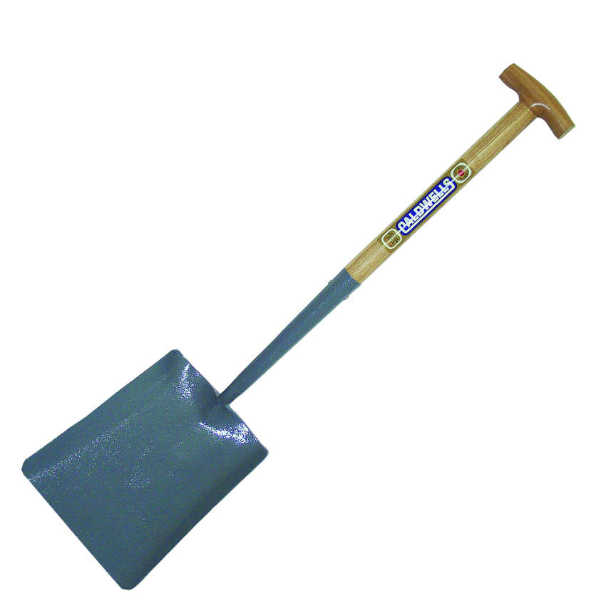 No 2 Square Mouth T Wooden Handle Shovel