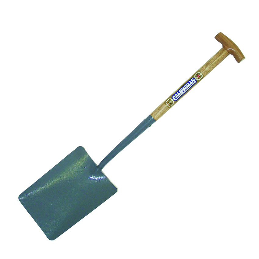 No 2 Taper Mouth T Wooden Handle Shovel