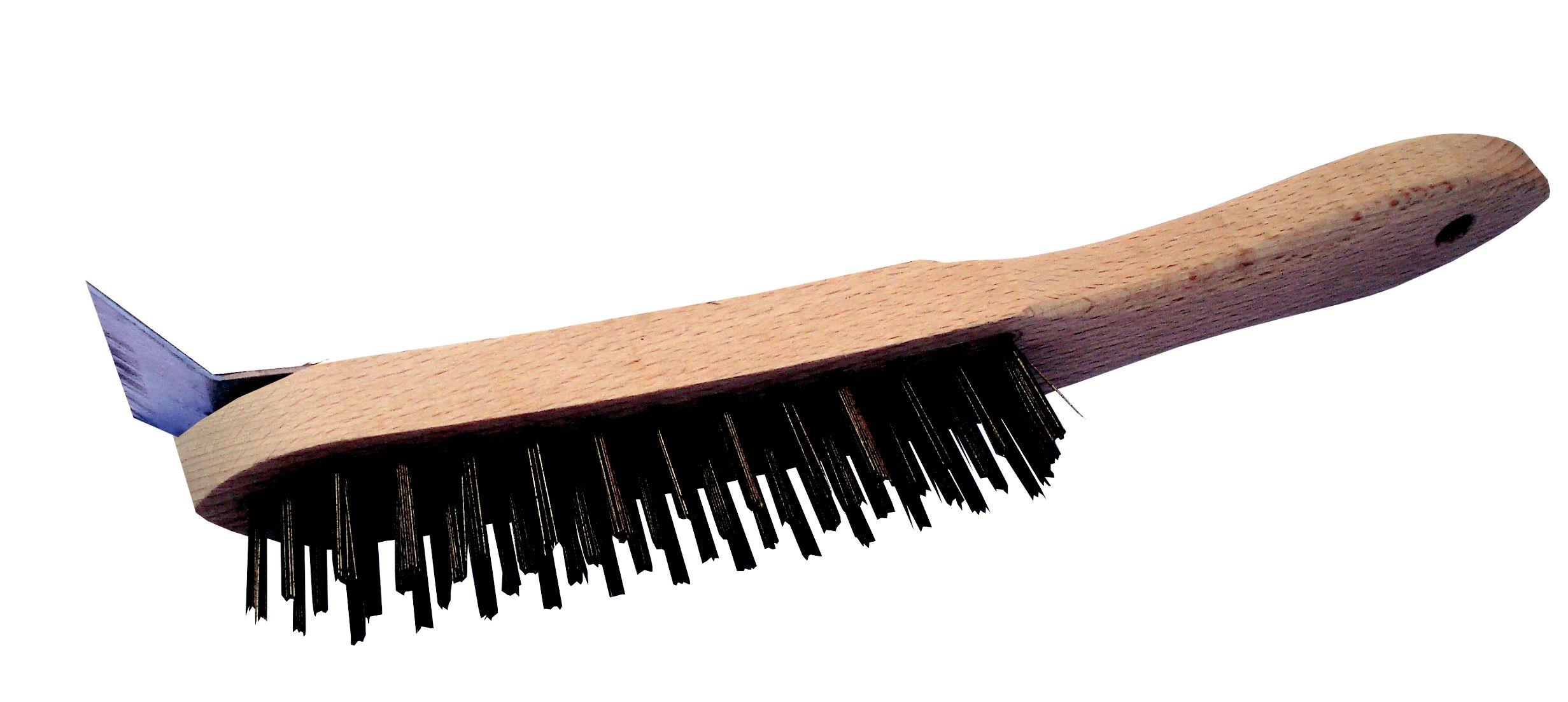 4 Row Wire Brush c/w Scraper