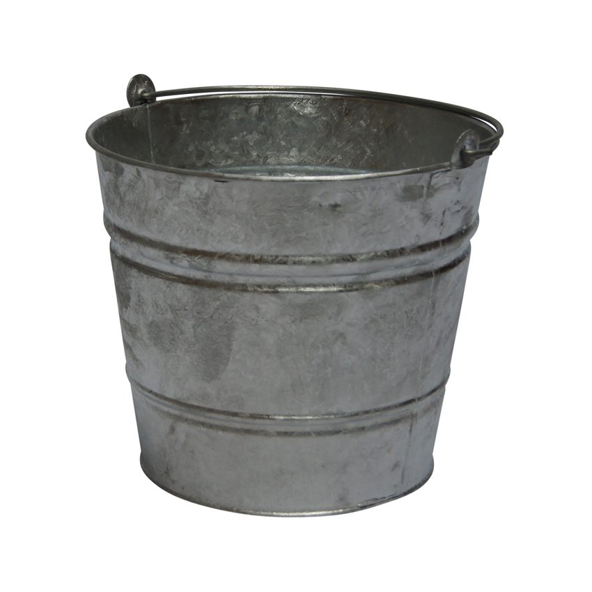12 Litre Galvanised Bucket