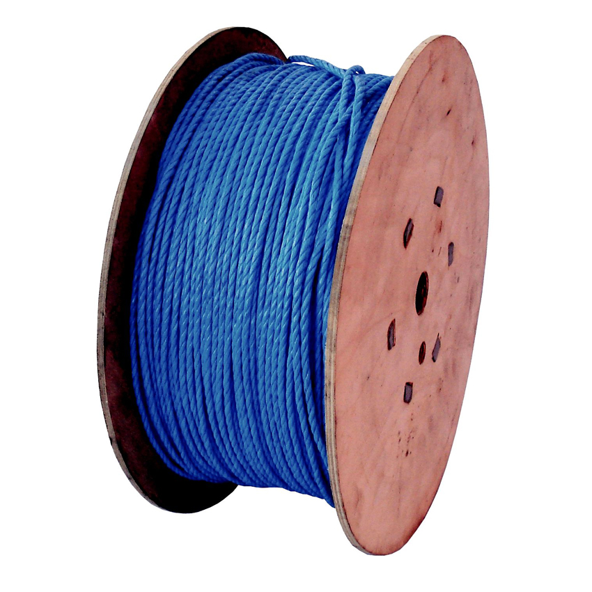 Site Equipment 6mm x 500m Polypropylene Rope on Wooden Drum