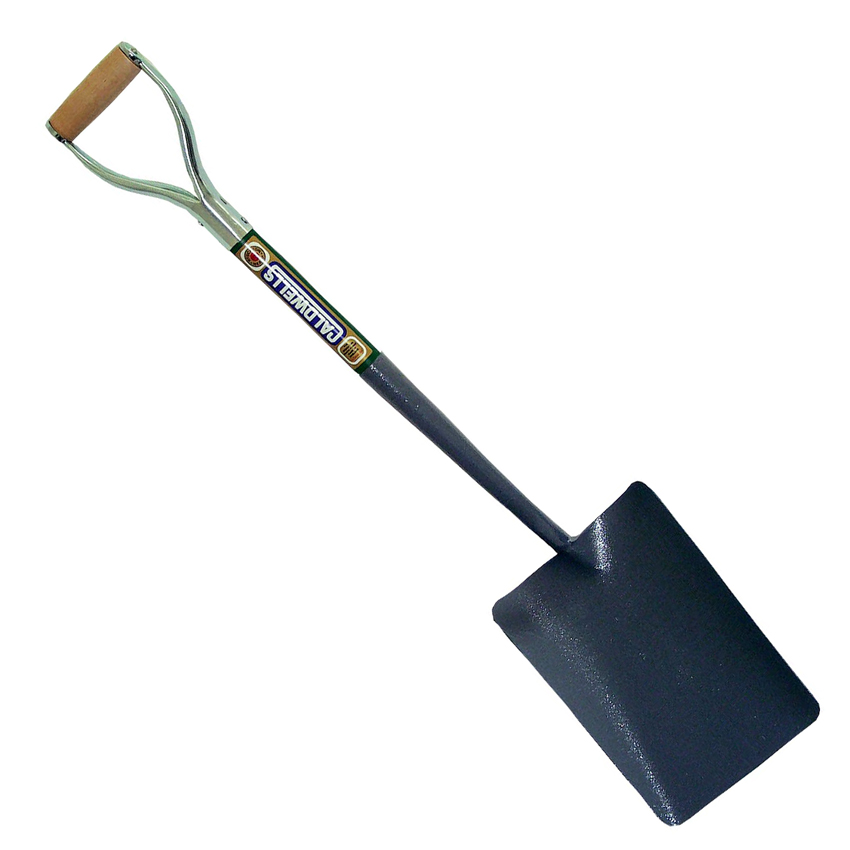 Groundworking Tools No 2 Taper Mouth YD Handle All Metal Shovel
