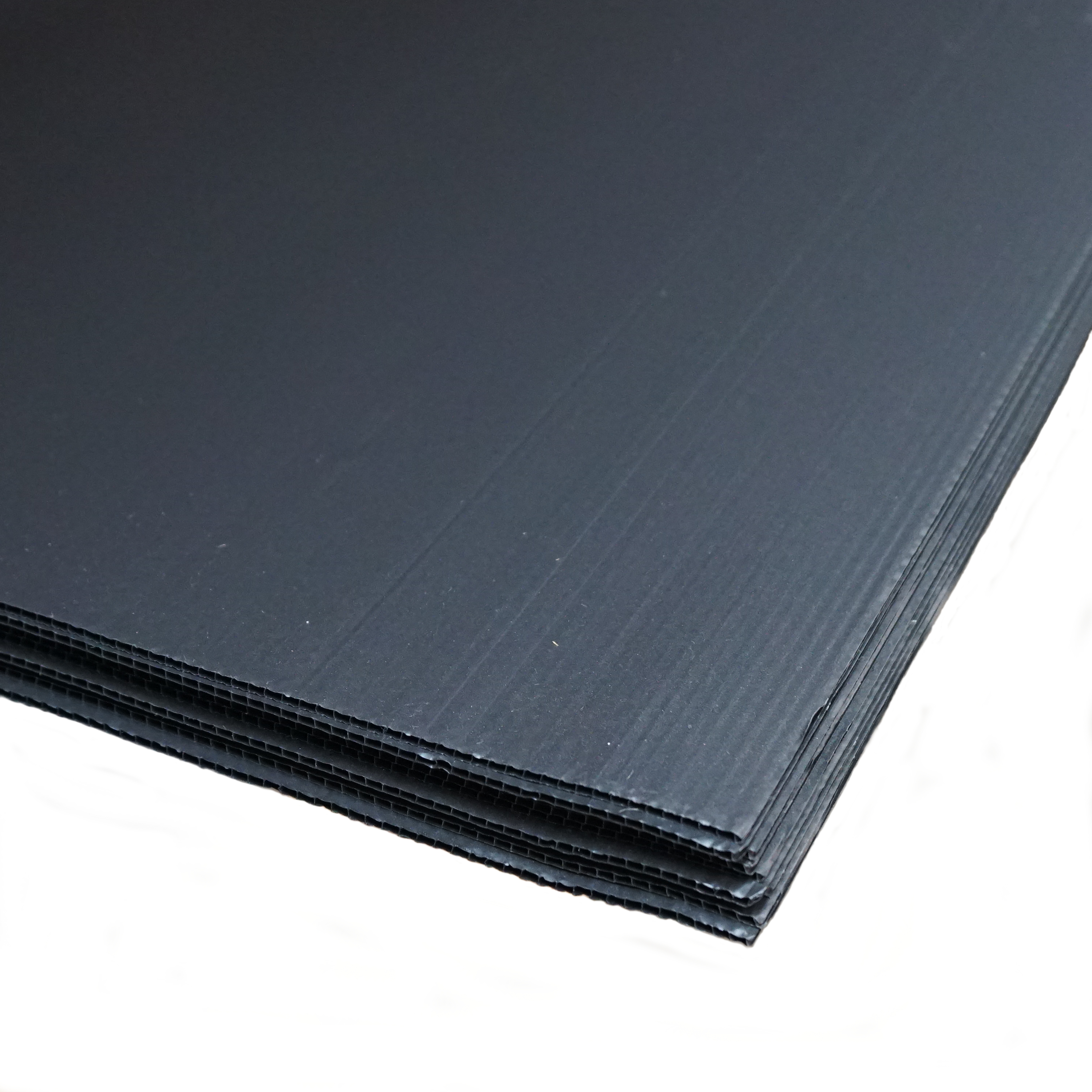 2.4m x 1.2m x 2mm Black Protection Board
