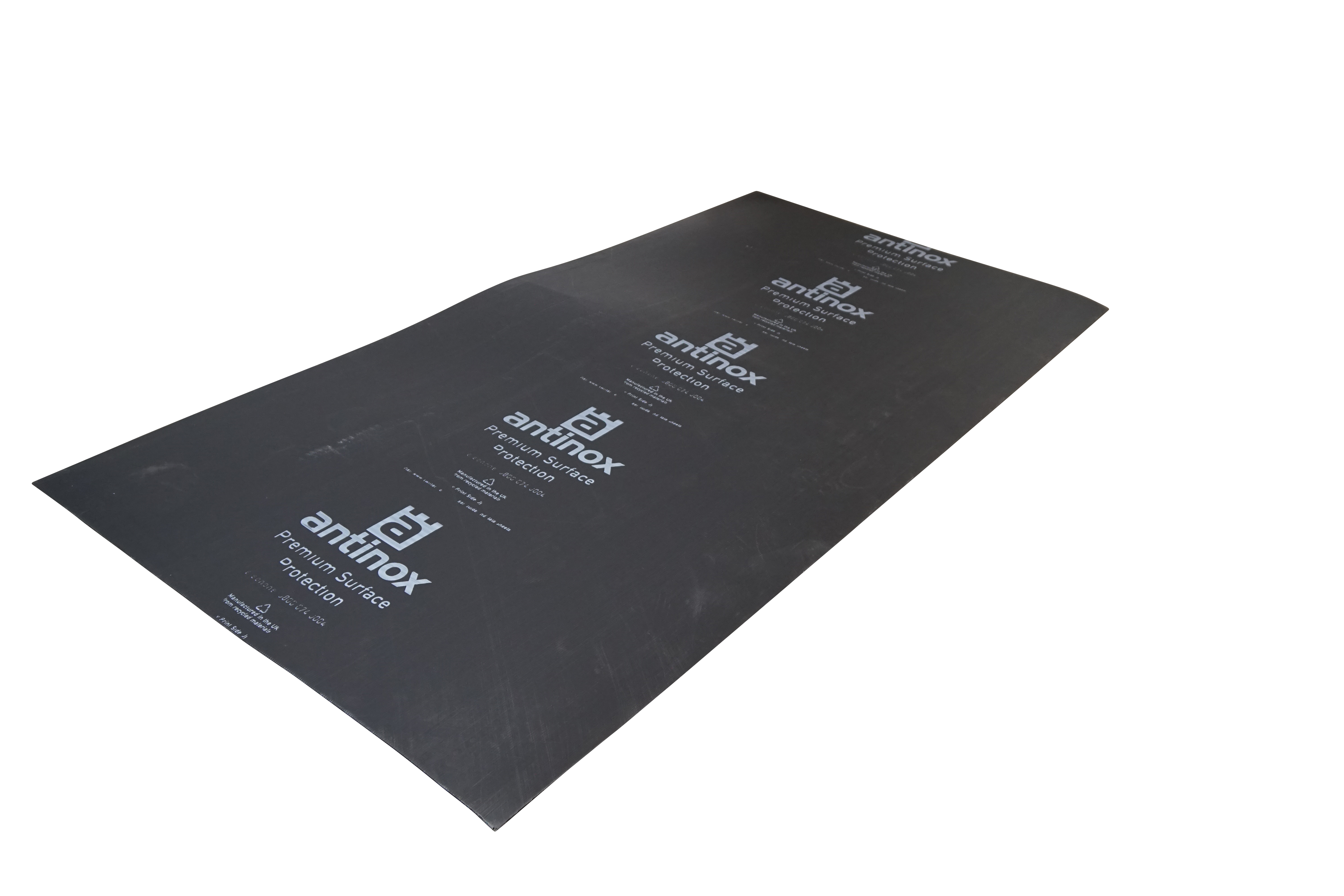 2.5 x 1.2m 3mm Black Protection Board