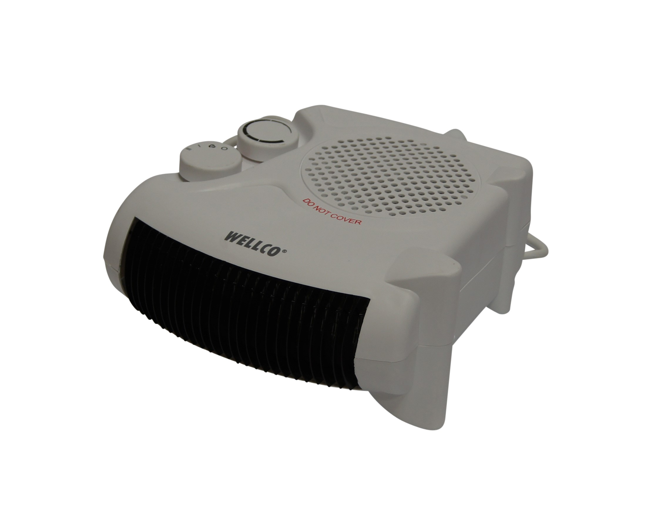 2kW 240v Fan Heater With 2 Heat Settings, Thermostat and Overheat Protection