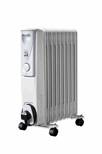 2kw 240v Oil Filled Radiator with Thermostat