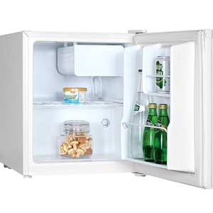 White Table Top 240v Fridge, 43.5 cubic litre capacity with 5.5 cubic litre ice compartment