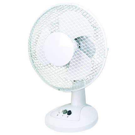 300mm Diameter Oscillating Desk Fan
