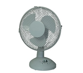 230mm Diameter Oscillating Desk Fan