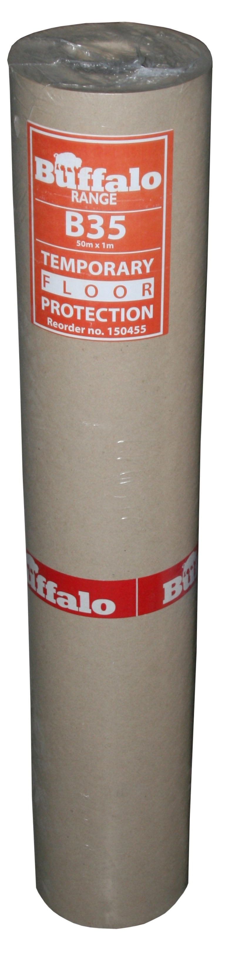 Floor Protection Buffalo Cardboard Roll (1 x 50m Roll)