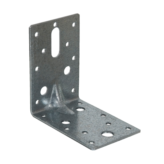 AB/2 90 x 90 x 63mm Galvanised Heavy Duty Angle Brackets